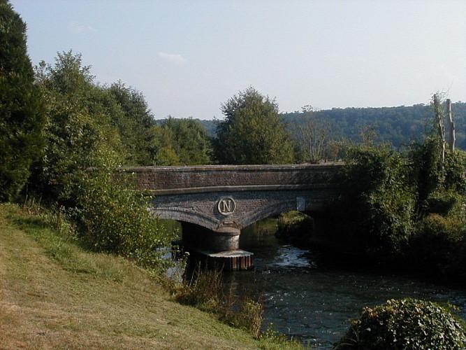 Randonnée du Chemin du Pont Napoléon, Corneville sur Risle (27500)