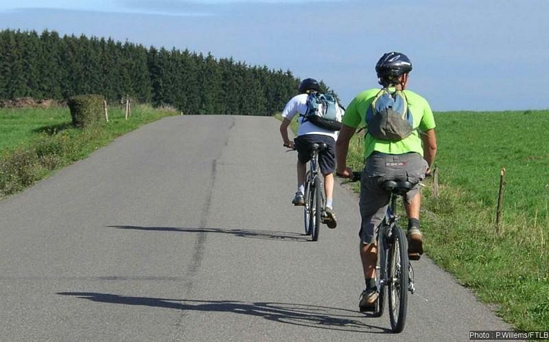 A vélo à Houffalize