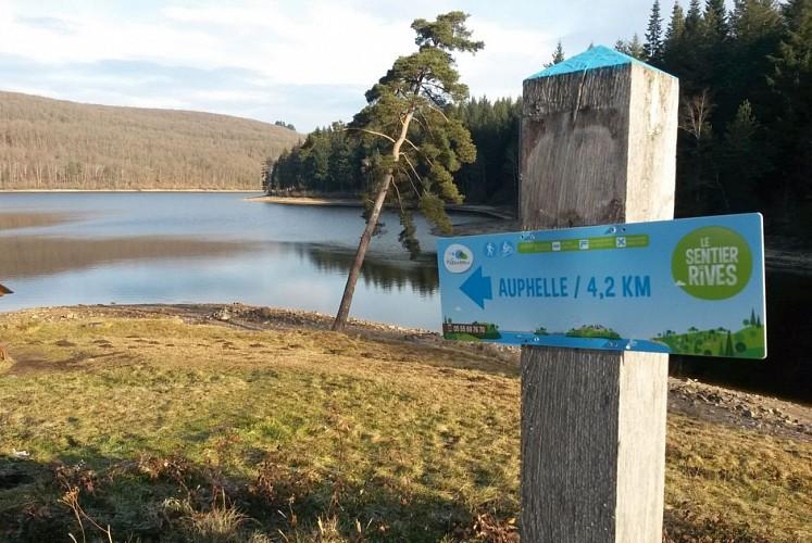 Sentier de Rives autour du Lac de Vassivière