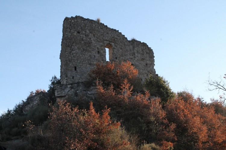 Montée château Lluça ( Castalogne ) Barcelone