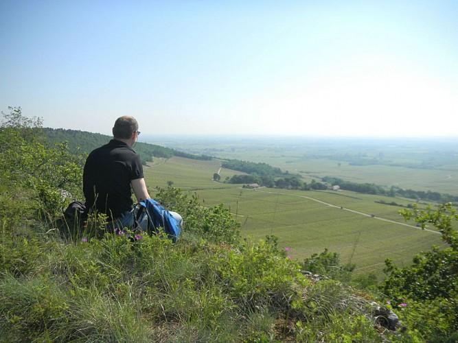 panorama depuis la Roche Dumay