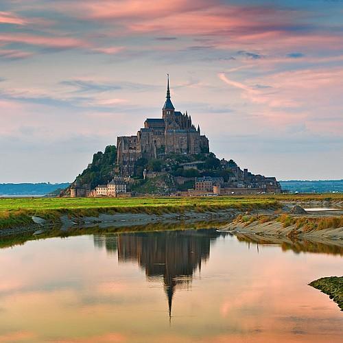 EV4 - Tour de Manche - Mont Saint-Michel >>> Roscoff   [364,8 km]