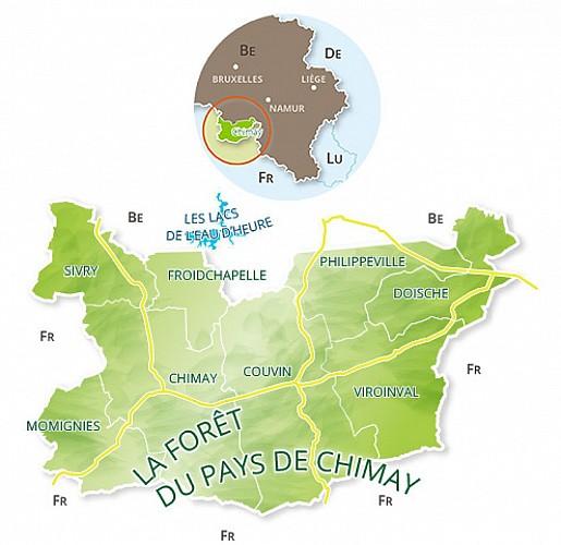 La Grande Traversée de la Forêt du Pays de Chimay / Sivry-Macquenoise