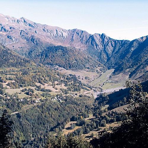 Alpage de Rouelles à Montsapey sous le col de Basmont