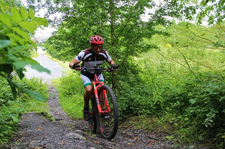 Circuit VTT autour de Mons-Borinage