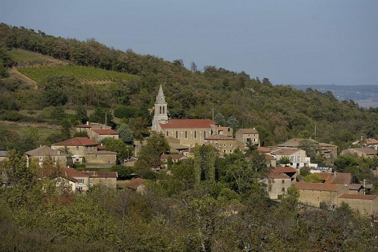 Le village de Vinzieux