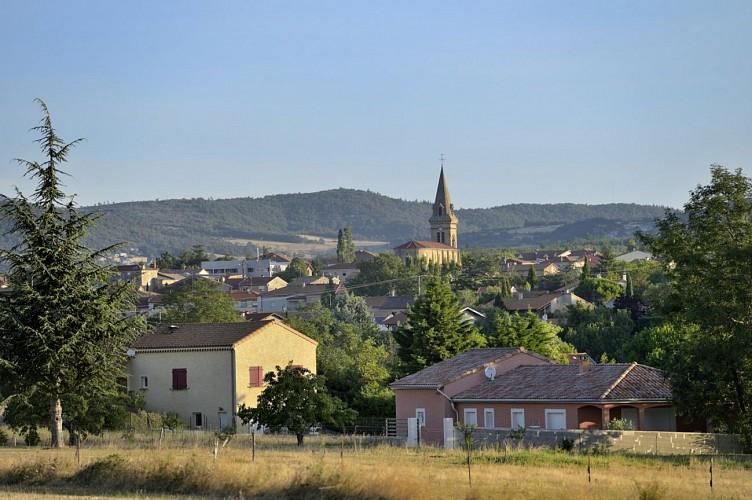 Le village de Davézieux