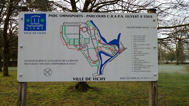 CRAPA fitness trail