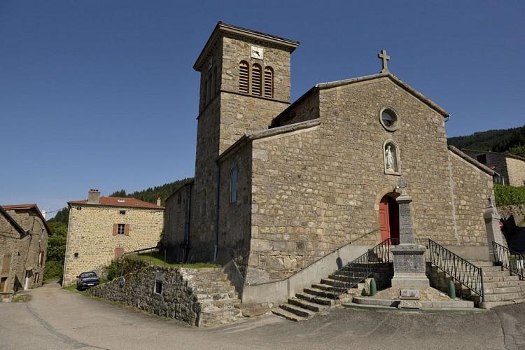 Le village de Saint-Julien-Vocance