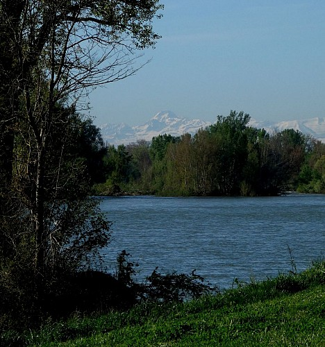 La Garonne au ramier de Portet/G.