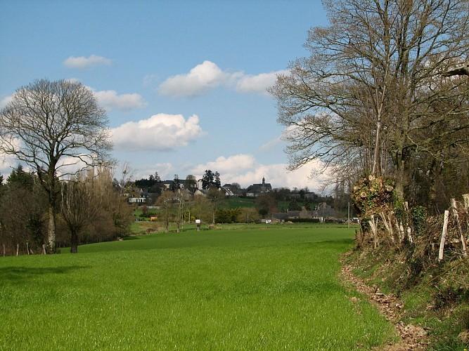 Circuit n°10 : Le Piémont - Commune de La Croixille