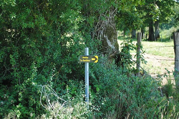 Circuit n°12 : La Barillère - Commune de Juvigné