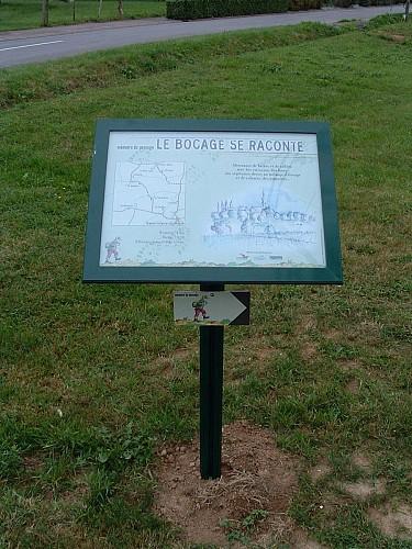 Circuit n°14 : De Vallons en Vallons - Commune de St Hilaire du Maine