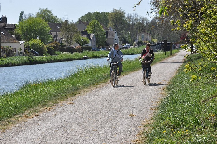 Bords du Loing à vélo