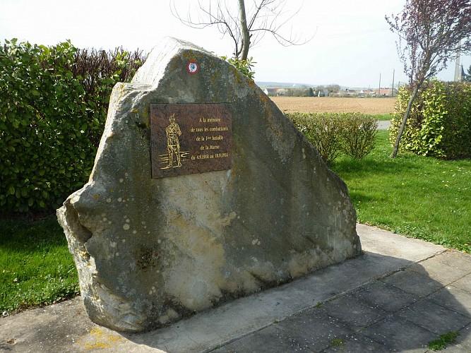 Mémorial à Barcy