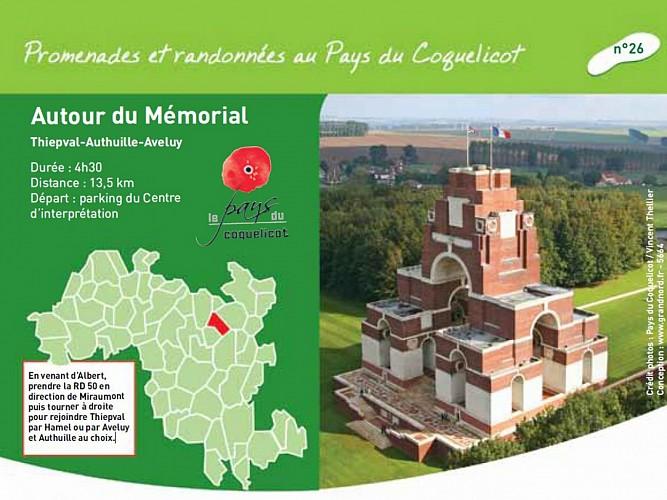 Le Mémorial Franco-Britannique de Thiepval