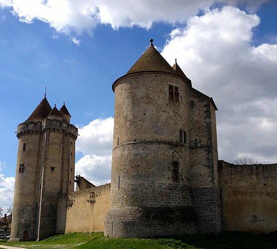 Les trois châteaux à vélo