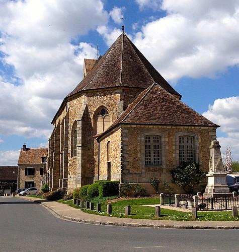Eglise de Blandy les Tours