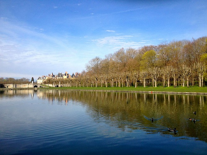 Grand canal Fontainebleau
