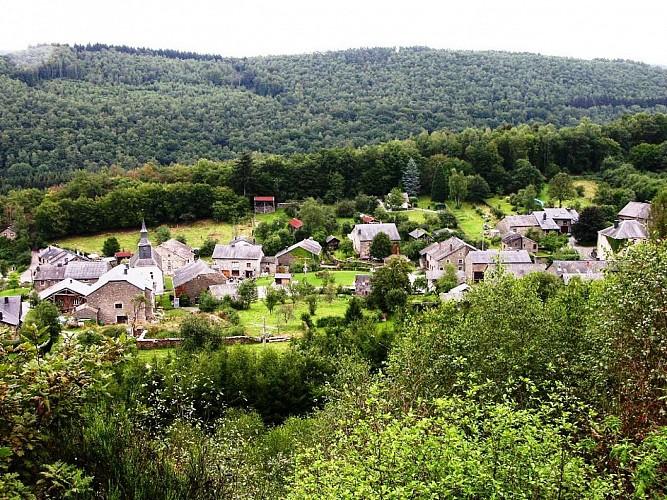 """Forfait Vélo : Boucle réunissant 2 des """"Plus beaux villages de Wallonie"""""""