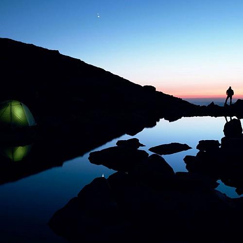 bivouac au lac de montartier