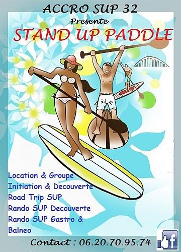 "rando Stand Up Paddle Samatan "" Rando Balneo  Accro Sup 32 """