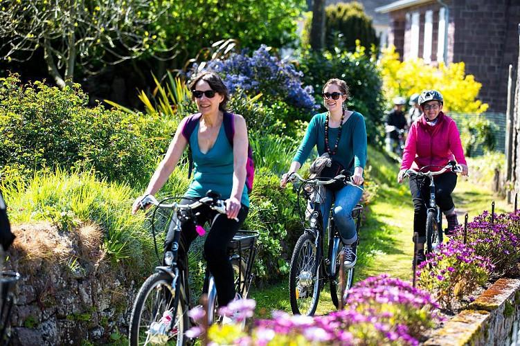 Balade à vélo jusqu'au Cap Fréhel (boucle)