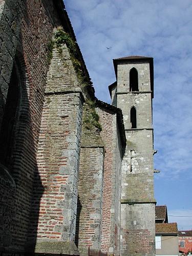 Port-Sainte-Marie, sur la route des pèlerins de Saint-Jacques
