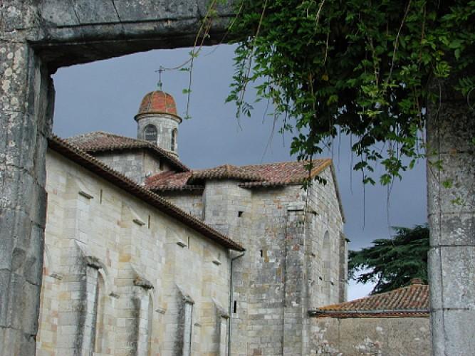 Moirax, sur la route des pèlerins de Saint-Jacques-de-Compostelle