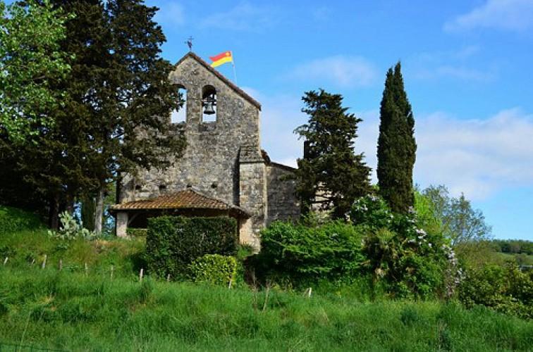 Montpezat-d'Agenais, par St-Médard et Saint-Jean-de-la-Balerme