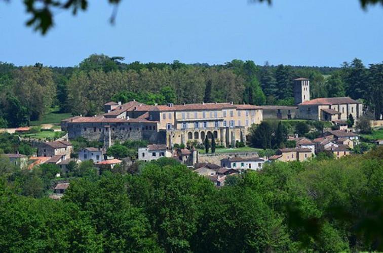 Poudenas, une ambiance de Toscane