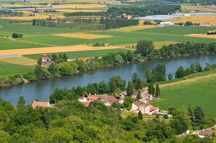 Nicole, de la Garonne au Pech de Berre