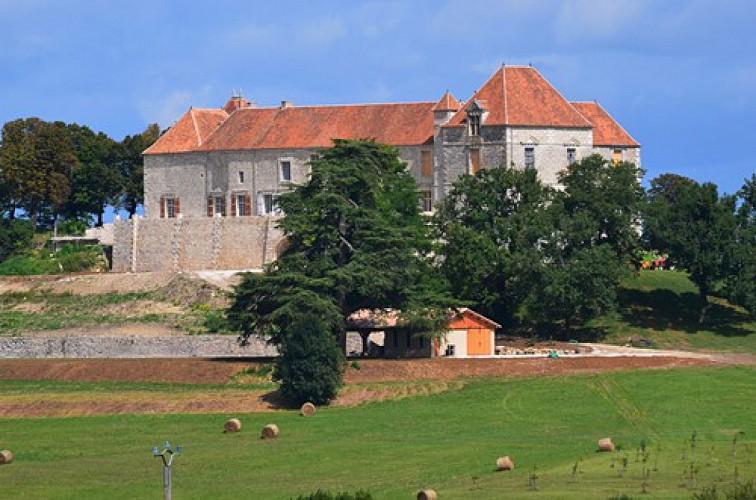 Bernac, randonnée autour du château de Théobon