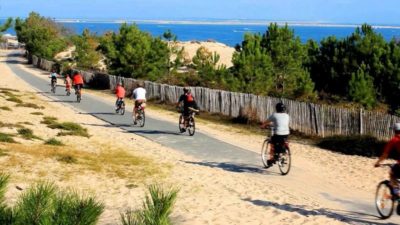 La Vélodyssée - De Lacanau océan à Arcachon