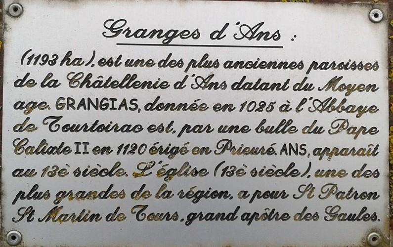 Boucle de Granges d'Ans Nord
