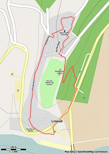 Circuit découverte de Limeuil. Plus beaux villages de France