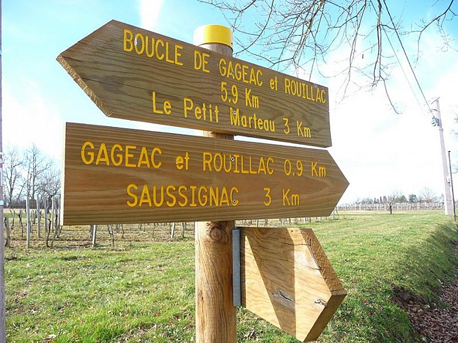 Boucle de Gageac et Rouillac
