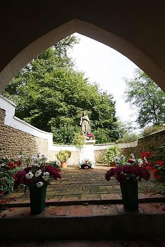 A Samadet, circuit de la chapelle Sainte-Rose