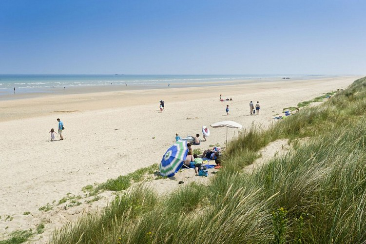 Photo N°2_Saint Martin de Varreville-Vue sur la plage PAT du Cotentin Marc Lerouge