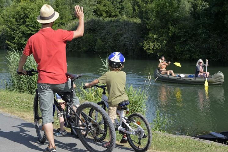 Randonnée à vélo dans le Marais poitevin