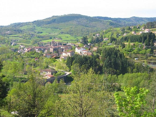 Circuit moto vers Lamastre et Saint-Agrève