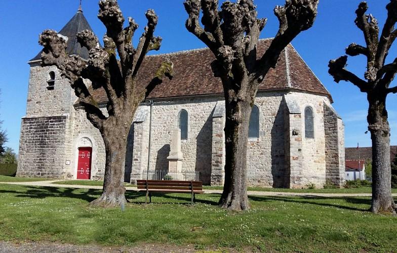 église de Villeneuve-la-Dondagre