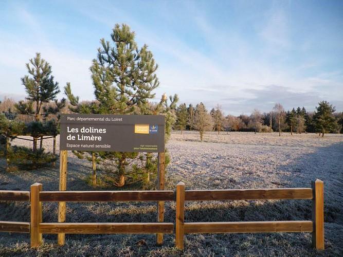 Ardon : Parc naturel départemental des dolines de Limère
