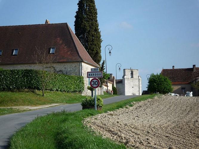Bergerac-Rocamadour Etape 3: Bardou-Beaumont du Périgord