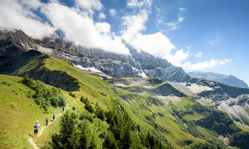 The Dents du Midi Trail