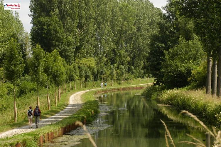 Canal de l'Ourcq à Crouy-sur-Ourcq