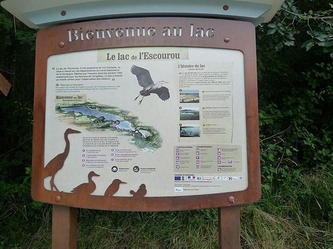 Sentier d'interprétation du Lac de L'Escourou
