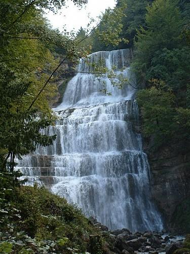 Les cascades du Hérisson : La rando Classique ( Aller-Retour)