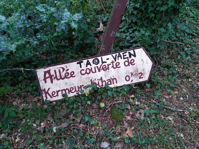 Du Belon à Kermeur, tour de l'anse de Lanriot
