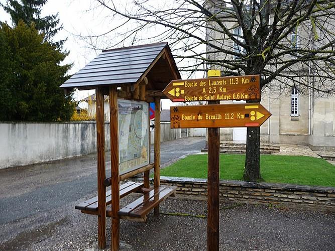Boucle de Saint-Aulaye - Saint Antoine de Breuilh